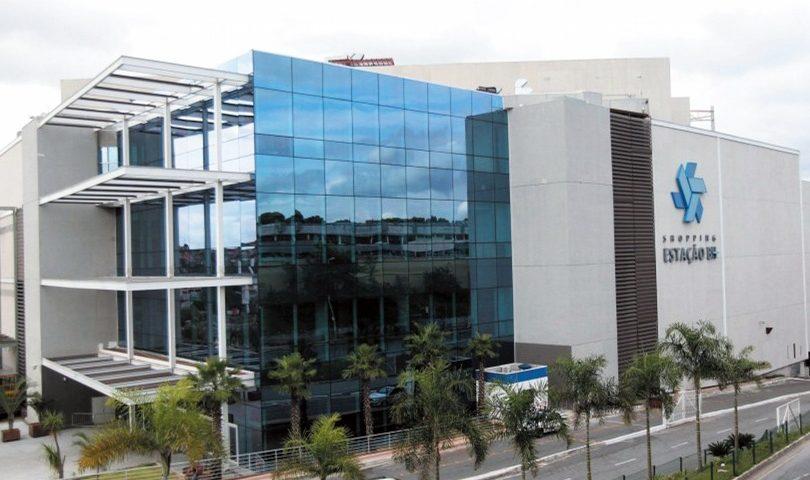 Foto Final projeto Fachada Shopping Estação BH cliente da Cristal Glass