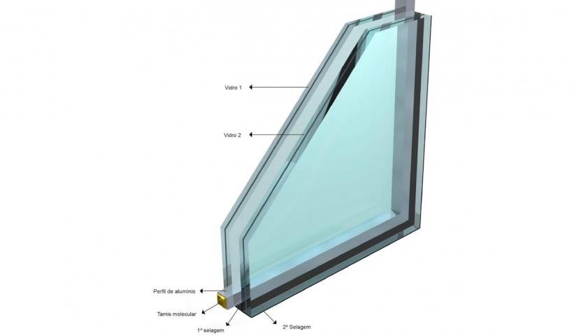Foto detalhe de sistema de isolamento acústico de PVC