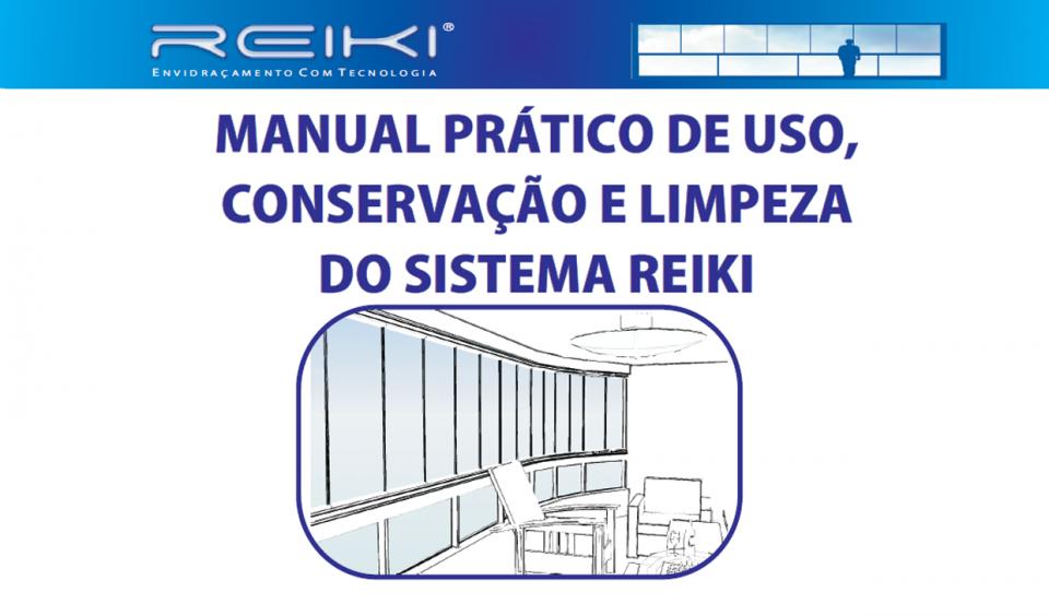 Ebook Manual Prático de Uso e Conservação e Limpeza de Sistema Reiki